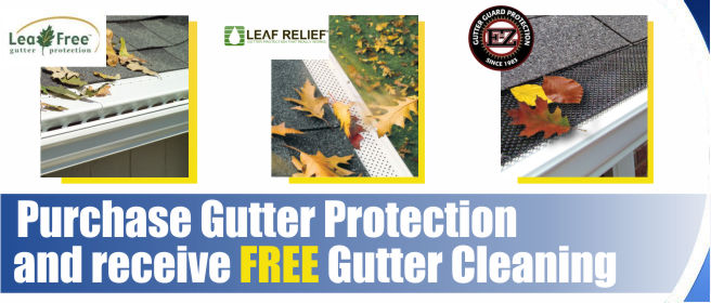 Free Gutter Clean Promo August 2014